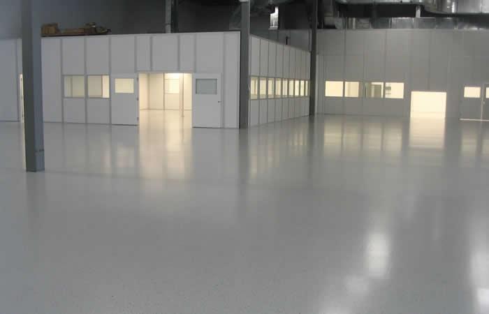 Self Leveling Flooring Service : Sga solutions epoxy flooring self leveling sports